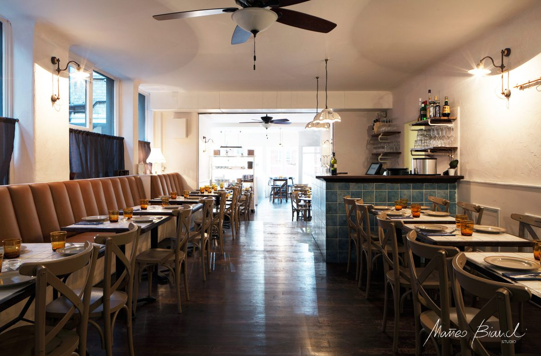 interior vintage Italian restaurant covent garden London