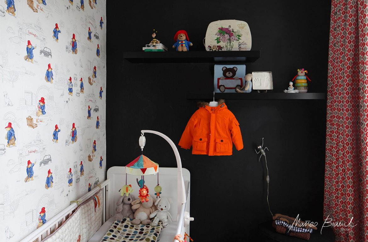 Dulwich interior design child room