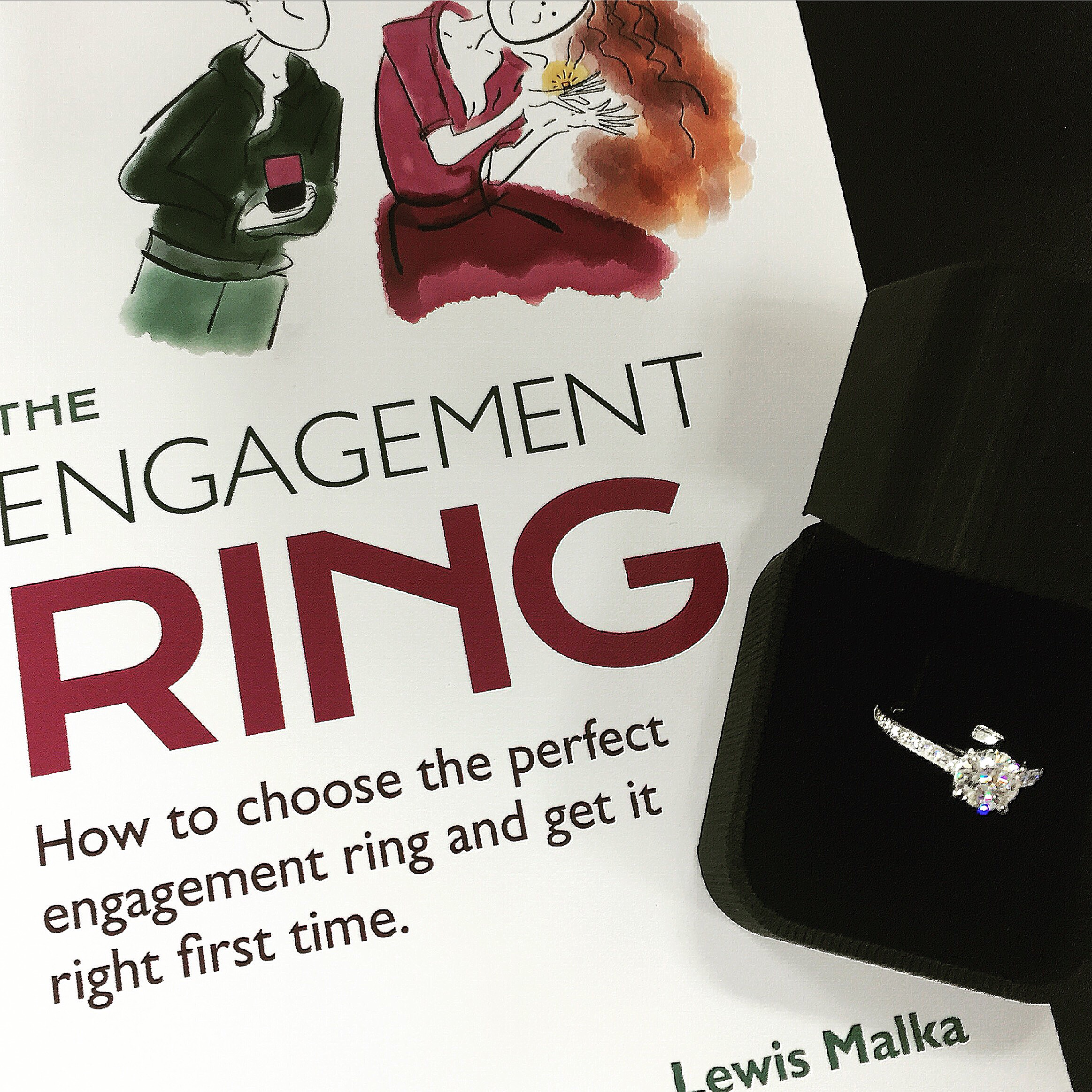engagement-ring-with-book