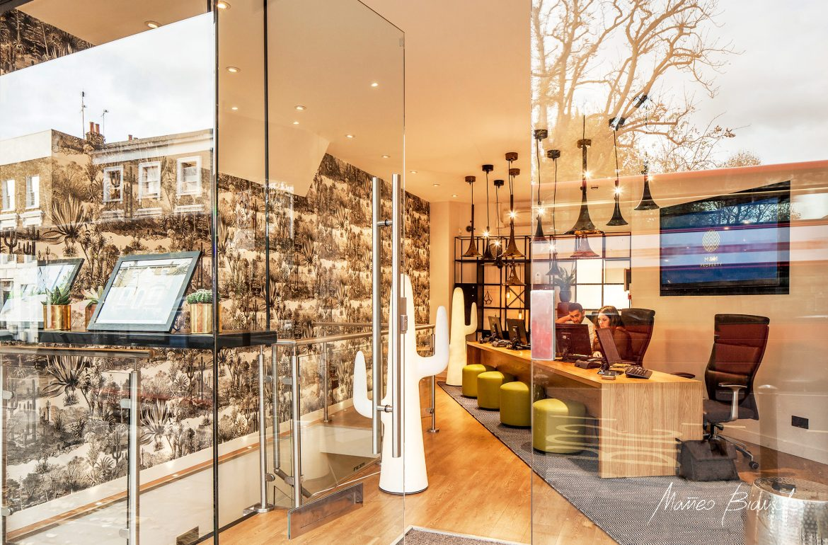 m&m estate agency interior design Highbury London