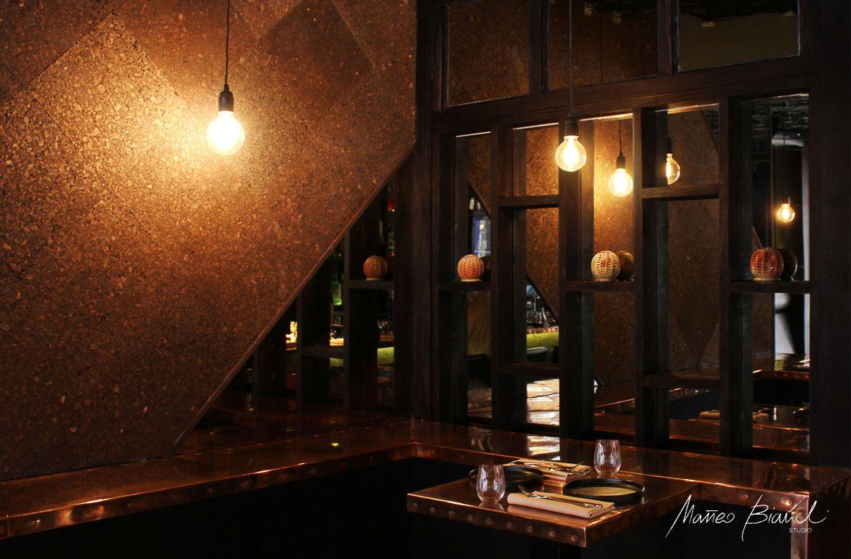 Encant restaurant design matteo bianchi London