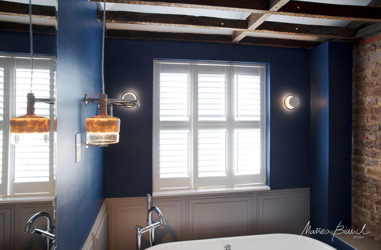 Penta light blue bathroom Gloucester design