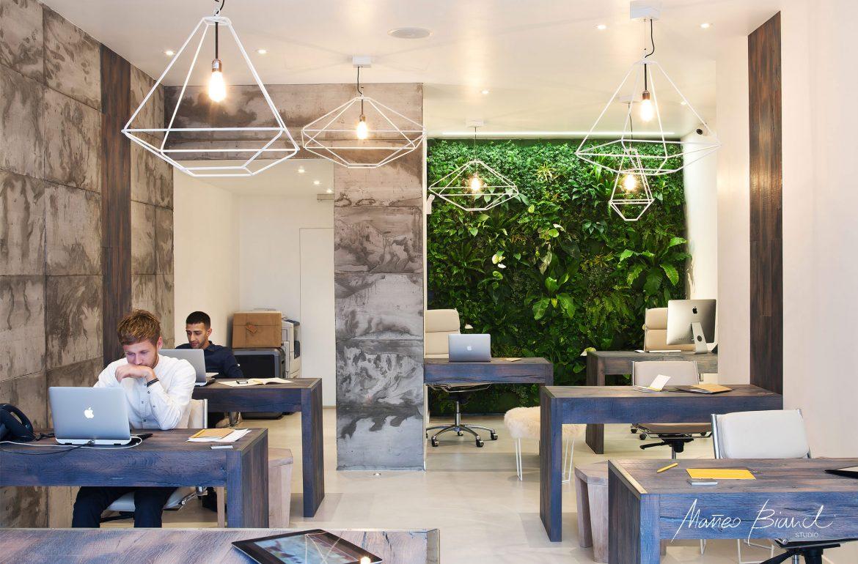 light fresh estate agency office design award