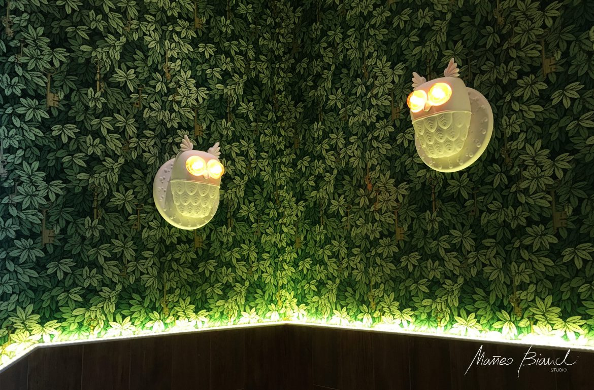 cool quirky lights design wallpaper Mof Venice