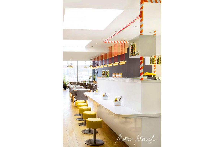 Matteo Bianchi restaurant interior design potters bar