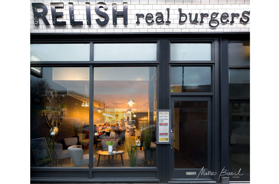 Relish burger bar London Matteo Bianchi
